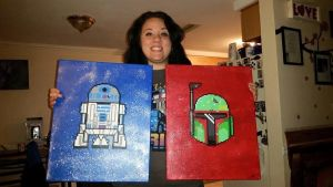 Boba and R2 completed by ParkerPixy84