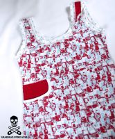 tiny robots dress 5 by smarmy-clothes