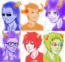 Troll boys by AleKaiLin