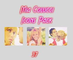 Mia Colucci Icon Pack by Cladiaaaaa