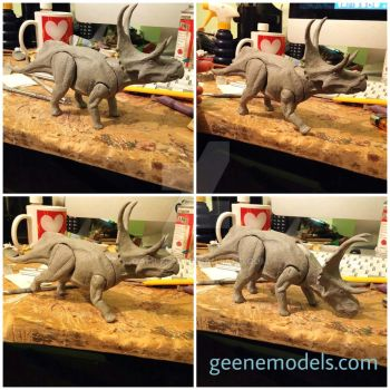 Diabloceratops articulated by GalileoN