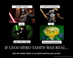 LEGO Hero Taisen....... motiv by Ask-IchinoHikari
