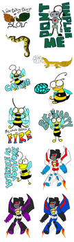 STICKERS FOR SALE by NimbusPrime