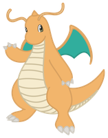 MLP-esque Dragonite by LunicAura106