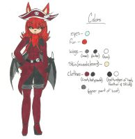 Archane ref by gamergirlnoob96