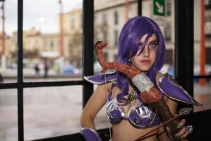 Night Elf - Comicon 2012 by AyunCelebelen