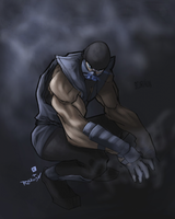 Scorpion as subzero -_-UUUUUUU by Dark-Razvan