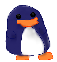 chibi Penguin by VerlinDalrex