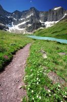 Glacier Path by porbital