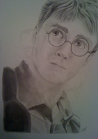 Harry Potter-Daniel Radcliffe by TussenSessan