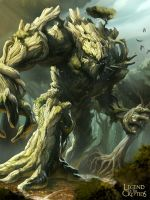 Legend of the Cryptids - Woodland Behemoth 1.0 by MarcWasHere