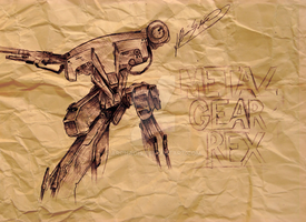 3: Metal Gear Rex by Archaois