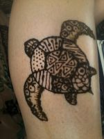 Henna Turtle by Pennamore