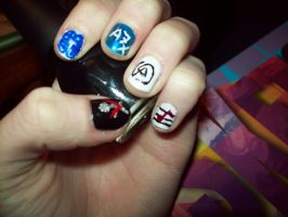 Music Nails by ffishy21