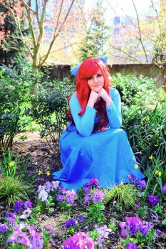 Ariel in Flowers by Kimmi-Cosplay