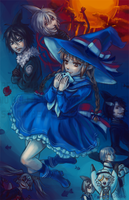 Wadanohara and the Great Blue Sea by Pew-PewStudio