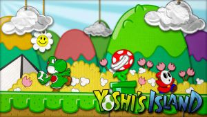 Yoshi's Island Wallpaper by InternationalTCK