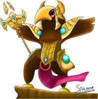 Chibi Azir by Stacona