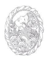 Frame tattoo design by Nevermore-Ink