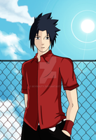 Gift : Weird Sasuke XD by beyrouty