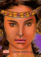 Star Wars Galaxy - Padme by RandySiplon