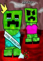 Minecraft Pageant Troubles by Morgaans