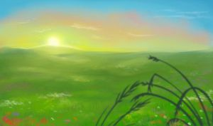 Flash mob_Landscapes_Meadow by Stasushka