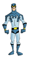 Modern Blue Beetle Stage 1 by mattcrap