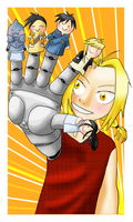 FMA finger puppets by Hapuriainen