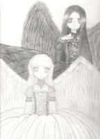 ///Two Angels/// by BloodSorrow13