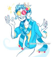 Trickster Erisolsprite by Clock--Heart