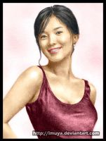 Colored 1st Song Hye Kyo by imuya