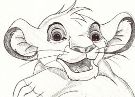 Young Simba by FreakshowFenner