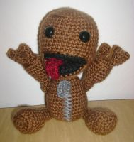 Crochet Sackboy by Aidou