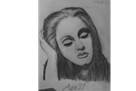 Adele 21 drawing from 2011 by ARTruntelskerillo