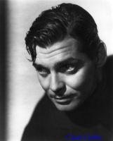 Clark Gable by HalloweenMAGE