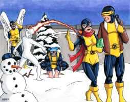 Original X-Men by TheRigger