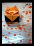 Origami Love Orange by yamixhikari
