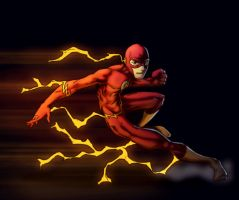 The Flash by Young-Art by spade92