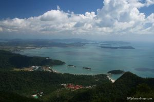 View from the Langkawi Sky Bridge by 100placesblog