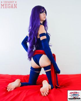 Uncanny Megan Psylocke Cosplay Commission 1 by British-Foot-Focus
