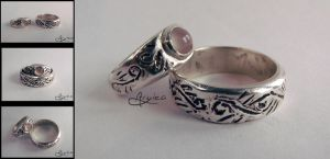 Elvish Wedding Set by Aryiea