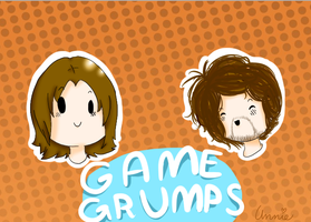 Game Grumps with Arin and Danny by Wonderous-Annie
