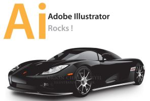 Vector Car in Illustrator by orioncreatives