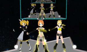 [MMD] Dream Fighter (Kagamine Rin) with video link by digitalromance77