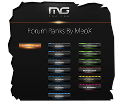 Forum Ranks - Free by E-moX