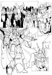 Starscreams Realm Page 4 inked by shatteredglasscomic