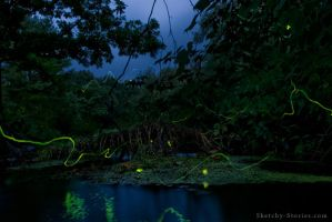 Figment Fireflies by Sketchy-Stories
