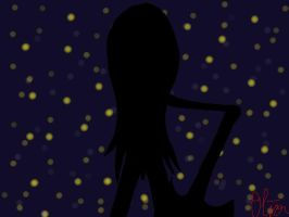 Marceline and the Night Sky by MyLittleLusus
