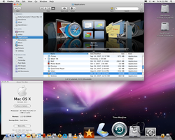 My Desktop of 2007 Mac OS 10.5 by andys184